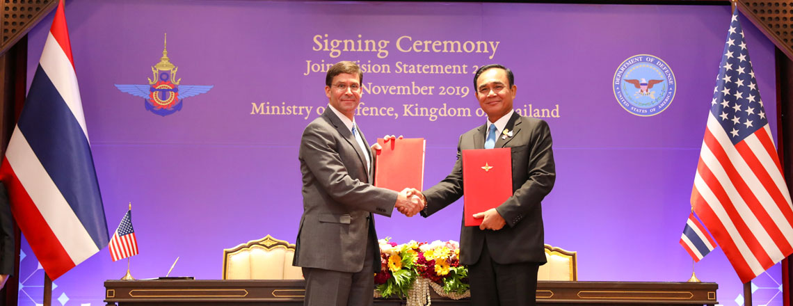 Joint Vision Statement 2020 for the U.S. – Thai Defense Alliance