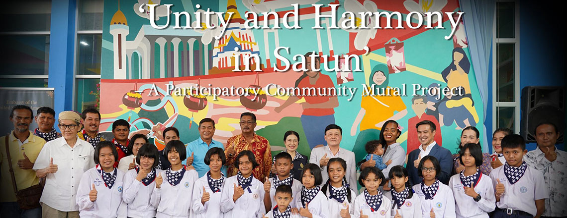 Participatory Community Mural Project: Unity and Harmony in Satun