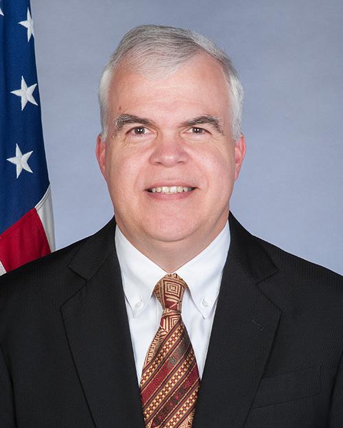 Photo of Chargé d'Affaires Peter Haymond