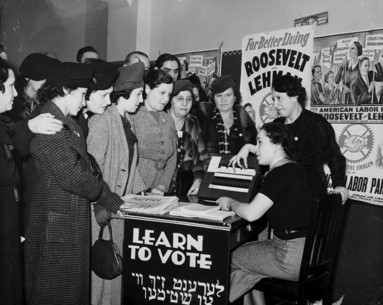 The 19th amendment to the U.S. Constitution, which provides women voting rights, is unanimously declared constitutional by the eight members of the U.S. Supreme Court.