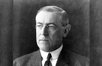 In 1918, President Woodrow Wilson gave a speech before Congress in support of guaranteeing women the right to vote. The House of Representatives had approved a 19th constitutional amendment giving women suffrage.