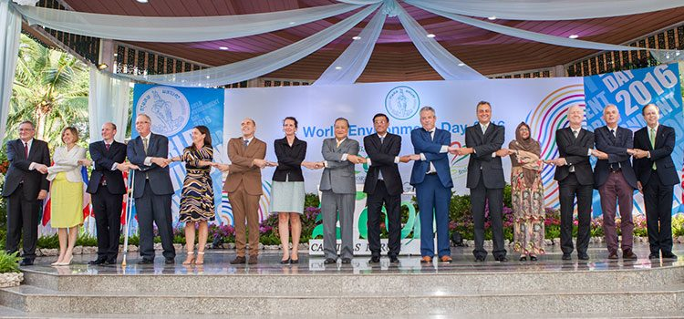 Eco-Capitals Forum Signing Ceremony (State Dept.)