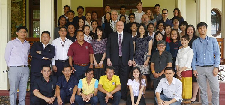 Deputy Chief of Mission, Peter Haymond, visited Chiang Mai