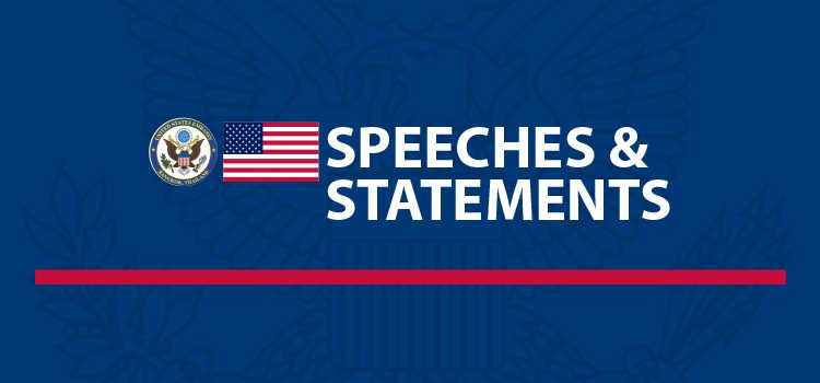 Speeches & Statements