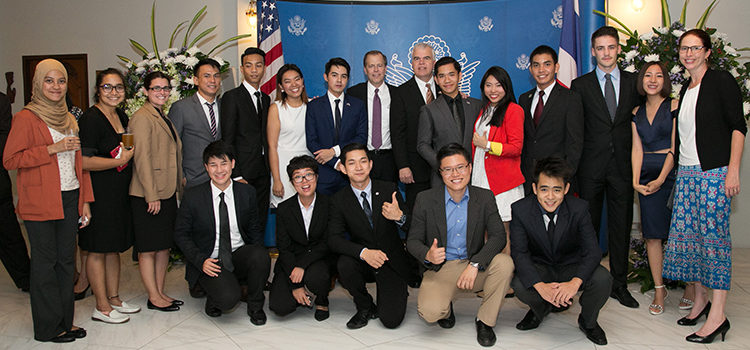Welcome Reception for New Deputy Chief of Mission Peter Haymond.