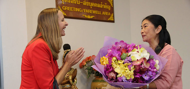 U.S. Consulate General Chiang Mai welcomed new Consul General Jennifer Harhigh to northern Thailand.