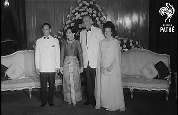 ประธานาธิบดีคนแรกที่เยือนไทย – ประธานาธิบดีจอห์นสัน