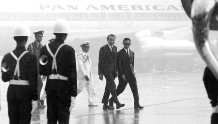 Image result for nixon in thailand 1969 images