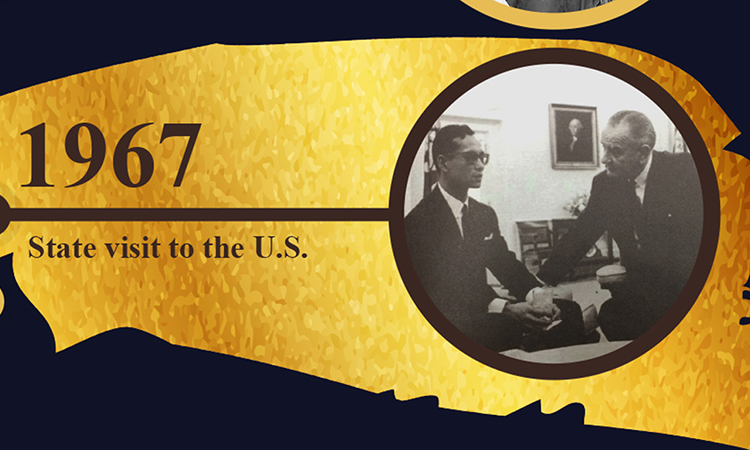 Remembering King Bhumibol Adulyadej's 1967 state visit to the U.S.