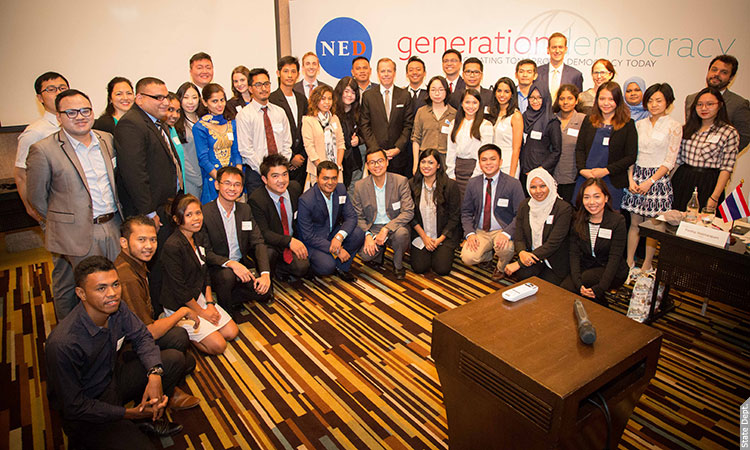 Ambassador Glyn Davies at Generation Democracy Summit