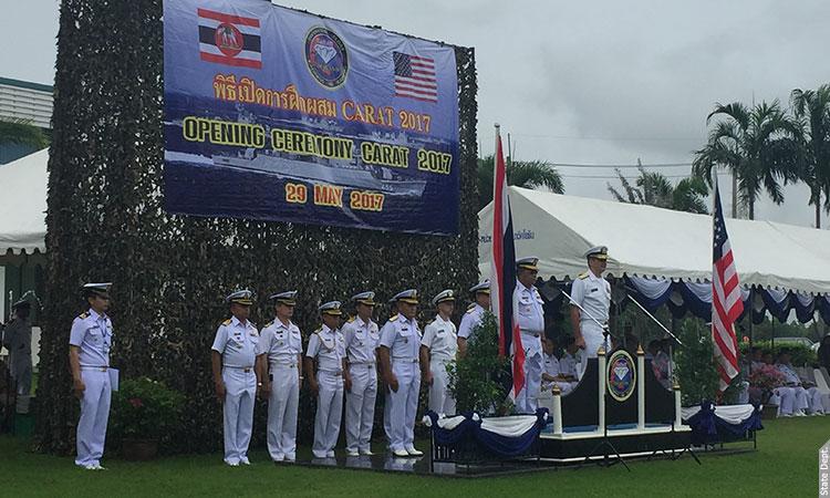 CARAT 2017   U S  Embassy & Consulate in Thailand
