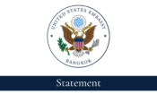 US Embassy Bangkok – Statement Header