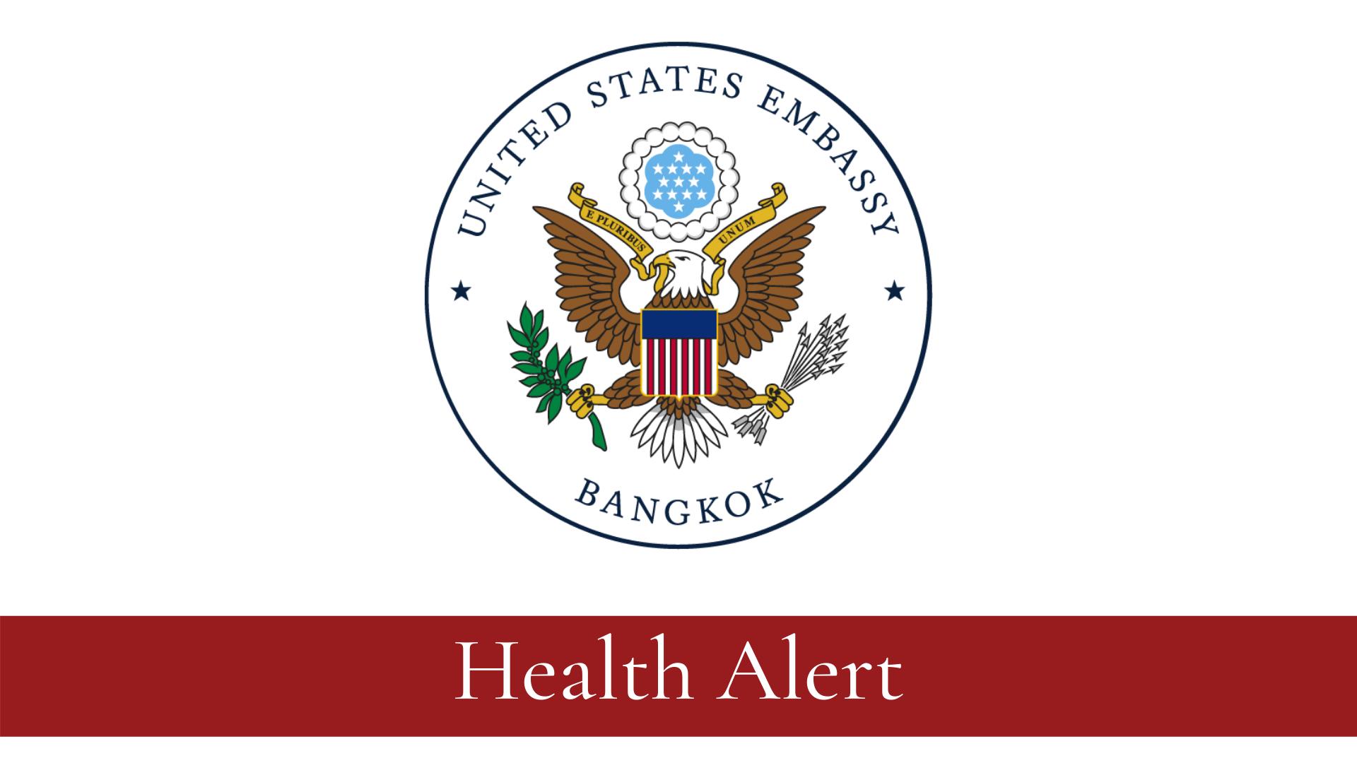 Health Alert U S Embassy Bangkok Thailand April 4 2020
