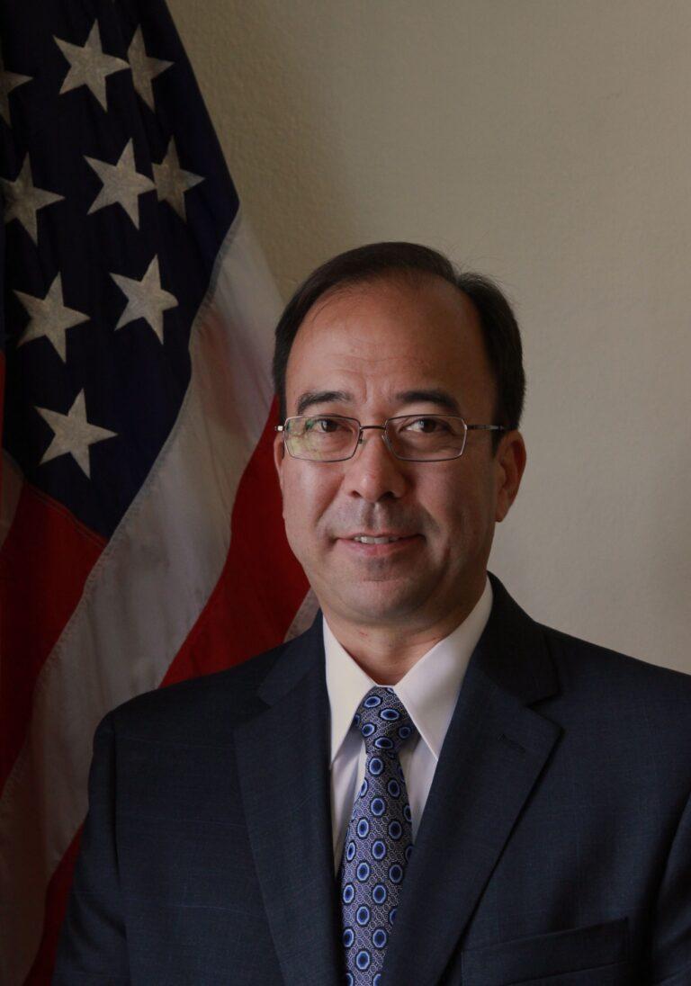 Photo of Chargé d'Affaires Michael Heath