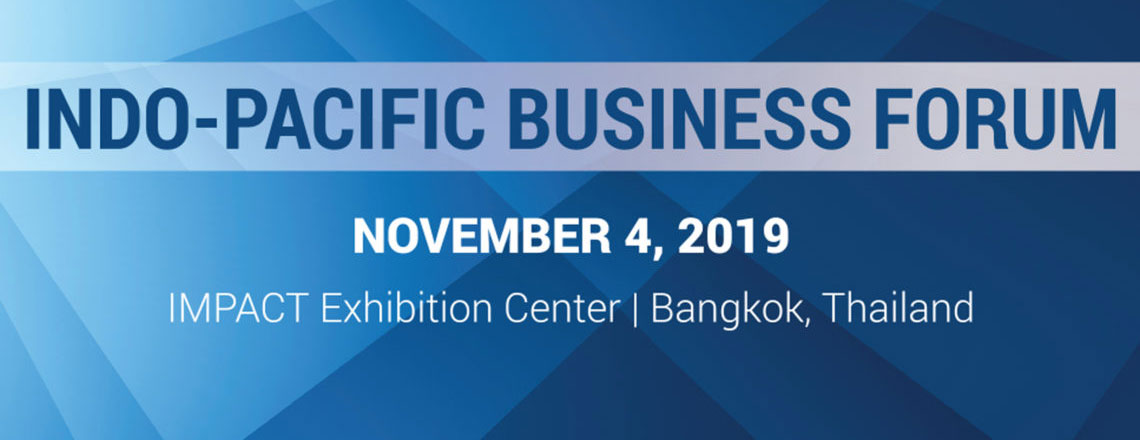 Indo-Pacific Business Forum 2019