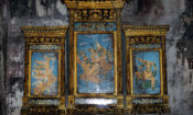 """""""Ramayana Mural Painting Documentation Project at Wat Suthat, Bangkok"""" implemented by Silpakorn University's Faculty of Architecture."""