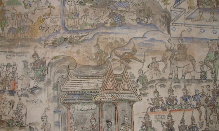 Ambassadors Fund for Cultural Preservation (AFCP): Preservation of the Mural Painting at Wat Baan Koh, Lampang