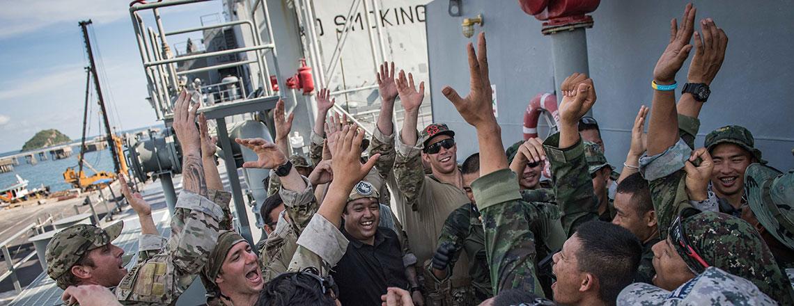 """การฝึกความร่วมมือและความพร้อมทางเรือ หรือ """"การัต"""" ประจำประเทศไทย ครั้งที่ 25"""