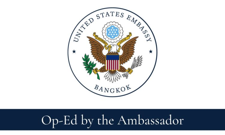 Op Ed by the Ambassador