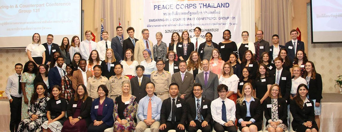 Peace Corps Swearing-In Ceremony