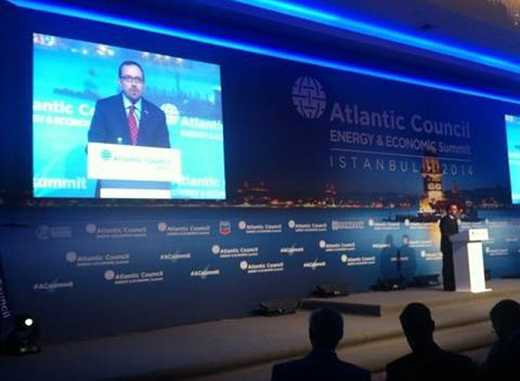Ambassador Bass at the Atlantic Council Summit in Istanbul