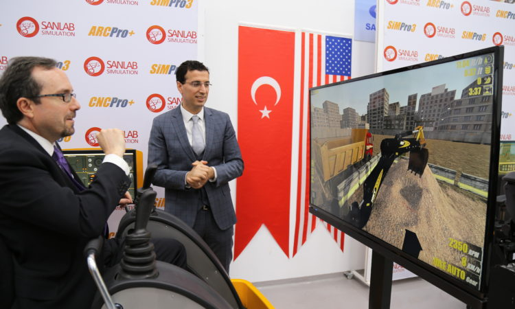 Ambassador Bass visited three cutting-edge R&D centers in Istanbul and Kocaeli