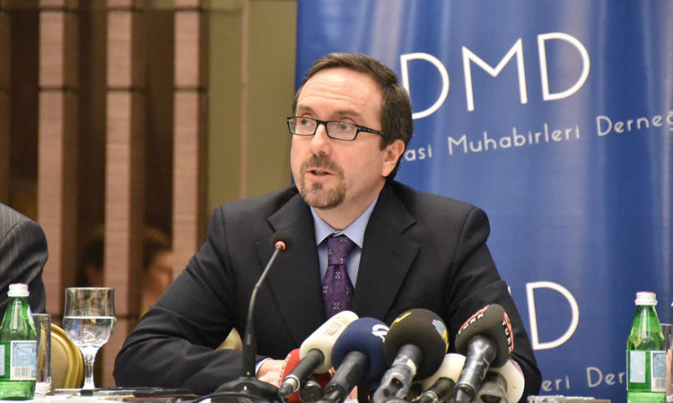 Ambassador John Bass - Roundtable with Diplomatic Correspondents Association (DMD)