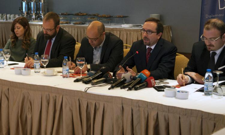 Ambassador Bass - Roundtable Meeting with Diplomatic Correspondents