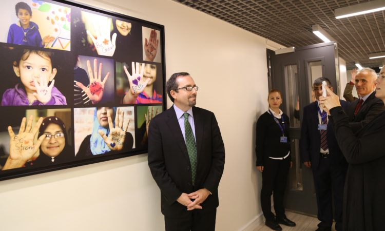 "Ambassador Bass at Resettlement Support Center (""RSC"") in Turkey"