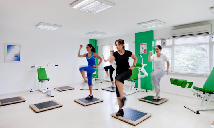 The B-Fit Sports and Healthy Living Centers allow women to work on self-esteem as well as fitness. (Courtesy photo)