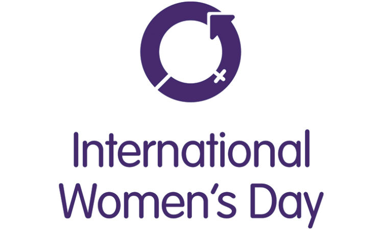 The International Women's Day logo