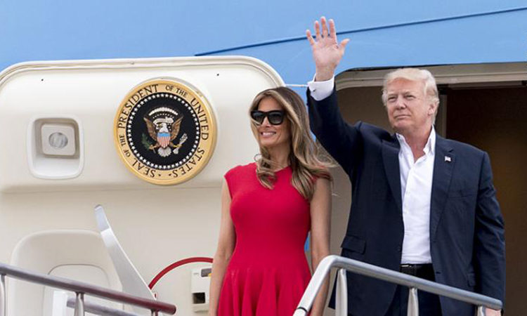 President Donald J. Trump embarked on his first trip overseas as President on Friday, May 19th.