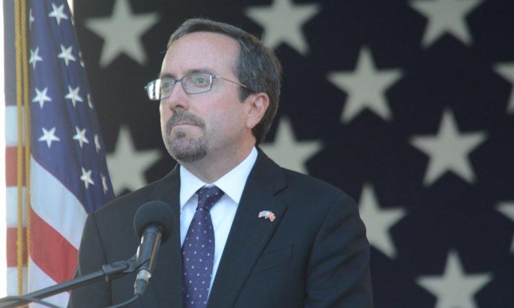 ABD Büyükelçisi John Bass'ın Bağımsızlık Günü Konuşması Büyükelçilik Konutu Ankara 7 Temmuz 2017