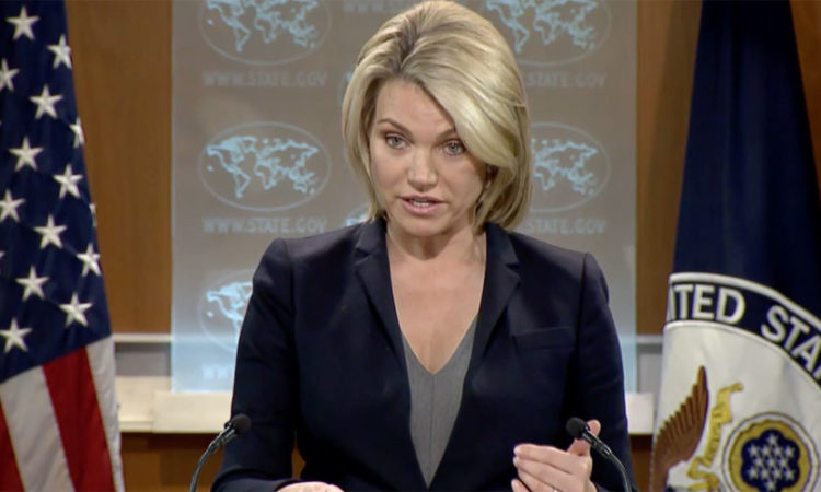 Heather Nauert - Spokesperson for the US State Department