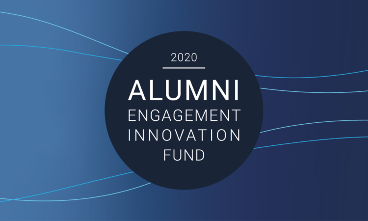 Alumni Engagement Innovation Fund (AEIF) 2020