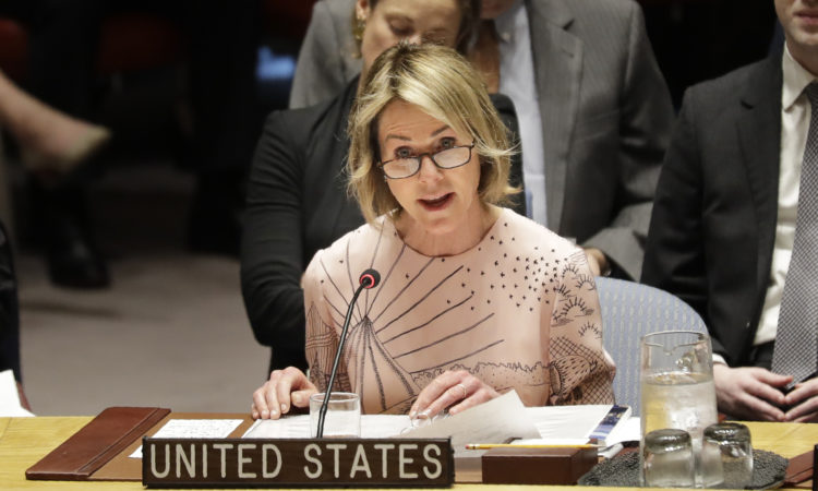 United States ambassador to the United Nations Kelly Craft