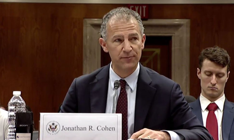Jonathan R. Cohen - Deputy Assistant Secretary, Bureau of European and Eurasian Affairs - U.S. Department of State