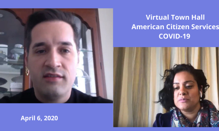 American Citizen Services COVID-19 Virtual Town Hall