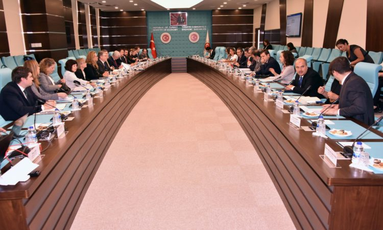 The 10th meeting of the Trade and Investment Framework Agreement (TIFA), signed between Turkey and the U.S. in 1999, occurred in Ankara on September 12-13, 2017. The Turkish delegation was led by Ministry of Economy Assistant Secretary Hüsnü Dilemre and the U.S. delegation was led by Assistant Representative of Trade Dan Mullaney.