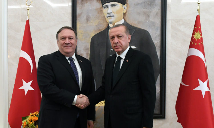 Secretary Pompeo met with Turkish President Recep Tayyip Erdogan in Ankara.