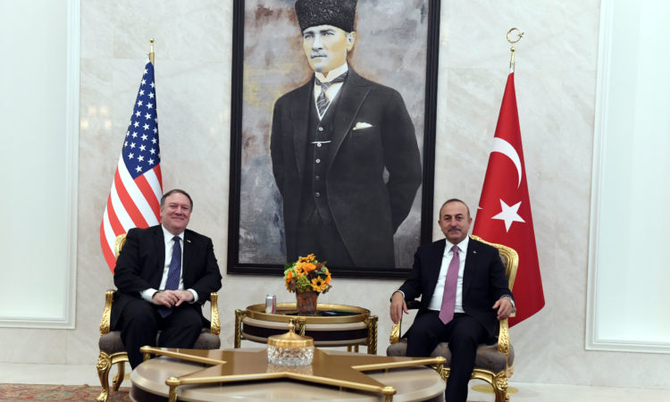 Secretary Michael R. Pompeo met with Turkish Foreign Minister Mevlut Cavusoglu in Ankara.