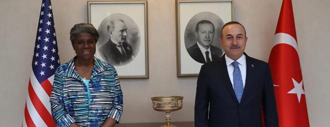 Readout of Ambassador Linda Thomas-Greenfield's Meetings with Foreign Minister Çavuşoğlu