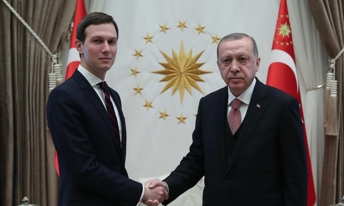 President Recep Tayyip Erdogan and Senior Advisor to the President Jared Kushner met in Ankara on February 27, 2019