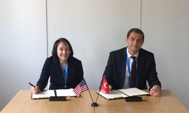 NRC)Başkanı Kristine Svinicki ve Türk Atom Enerjisi Kurumu Başkanı Dr. Zafer Demircan