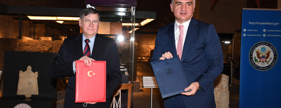 Amb. Satterfield's Remarks on the Signing of a MoU to Protect Turkish Cultural Property