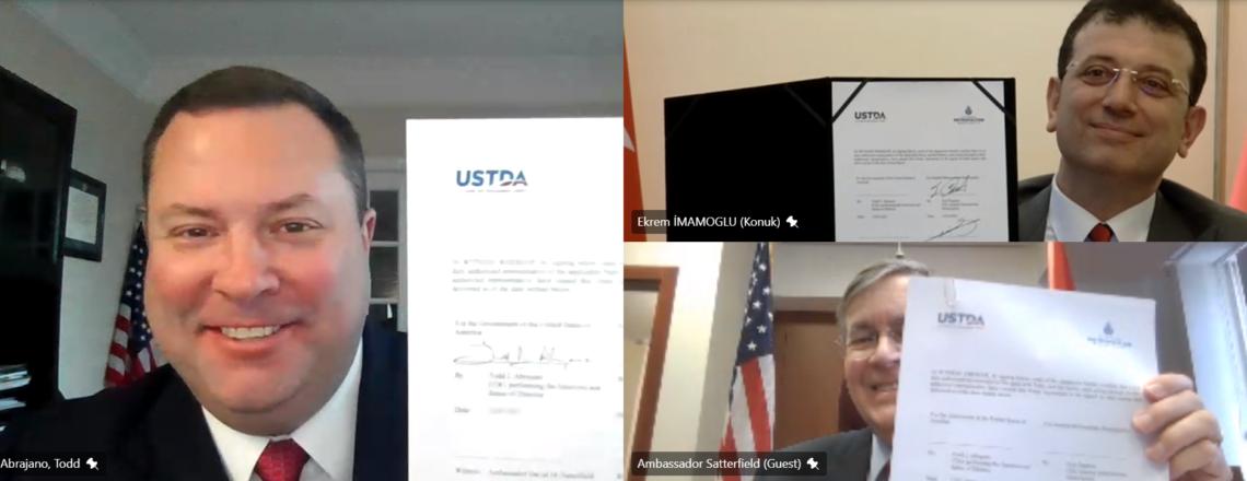 ABD Ticaret ve Kalkınma Ajansı (USTDA) İstanbul'un Dijital Dönüşümüne Destek Sağlıyor