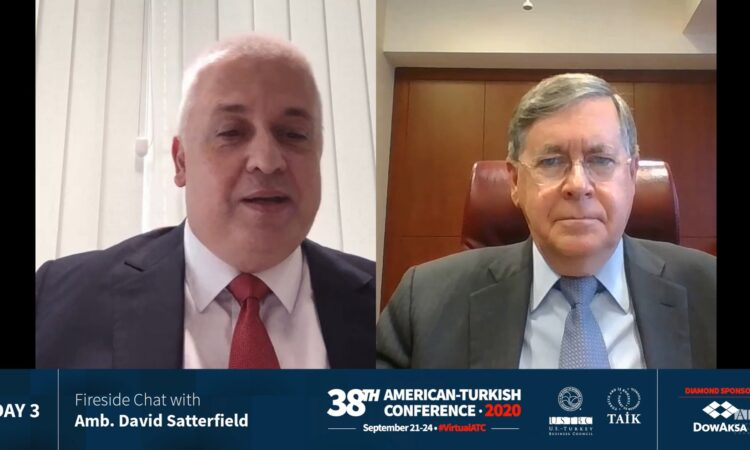 38th ATC | Fireside Chat with Ambassador Satterfield