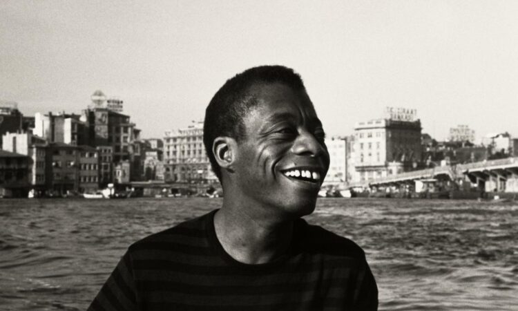 James Baldwin - Collection of the Smithsonian National Museum of African American History and Culture, © Sedat Pakay 1965
