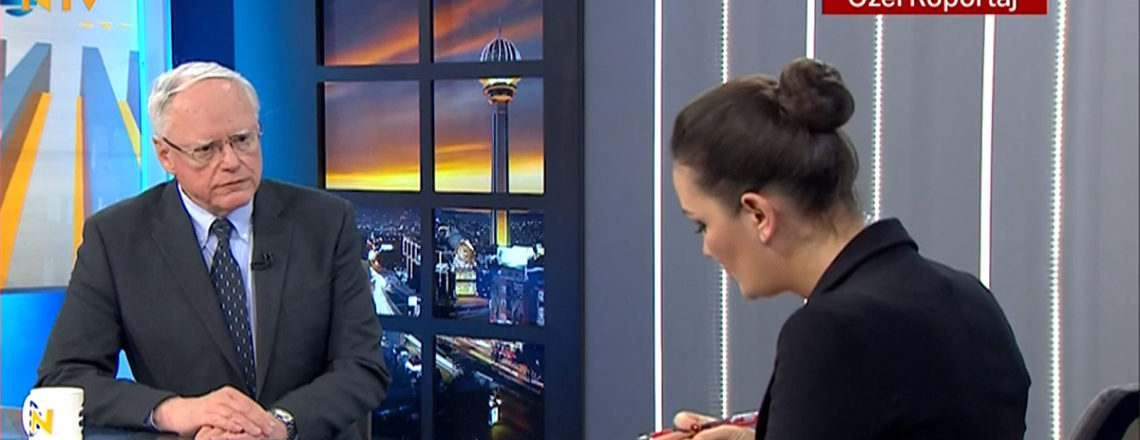 Ambassador James F. Jeffrey's Interview with NTV