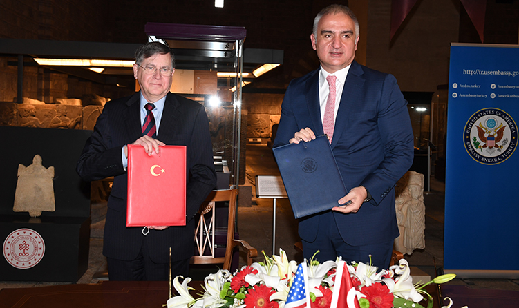 Signing of a Memorandum of Understanding To Protect Turkish Cultural Property